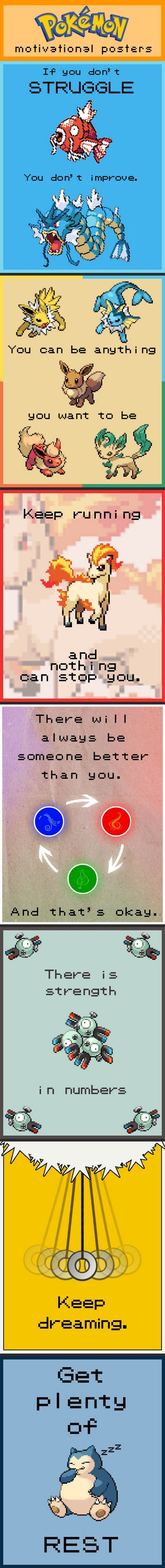Motivational Pokemon.