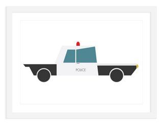 ModernPOP, Police Car- One Kings Lane