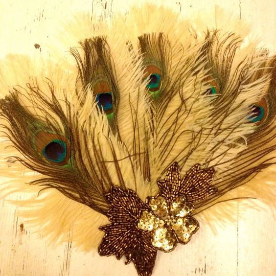 Small Feather Fans by Talulah Blue by Talulahblueburlesque on Etsy, £35.00
