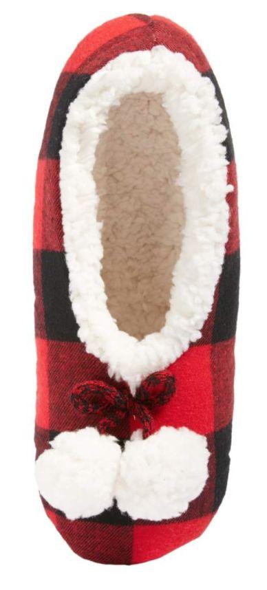 Cute plaid slippers