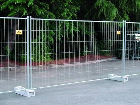Welded temporary fence is a kind of welded wire fence. It is ... on