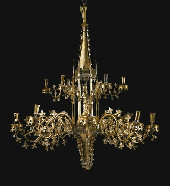 Sotheby's to sell magnificent 15th century chandelier dating to the 15th century - Alain.R.Truong