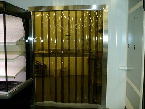 Pvc Amber Strip Door Kits Strip Curtains Door Kits Outdoor