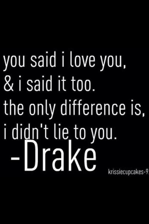 cheating quotes drake - photo #15