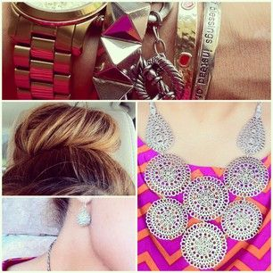 Stella & Dot pieces for my #ootd