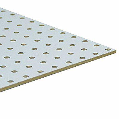 Mobelbauplatte Hdf Lochplatte Leimholz Einseitig Weiss 860 X 500 X 3 Mm Amazon De Baumarkt Leimholz Lochplatte Holz