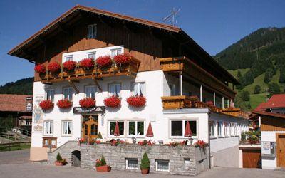 Alpengasthof Rank - Pension und Restaurant in Oberstdorf-Schöllang