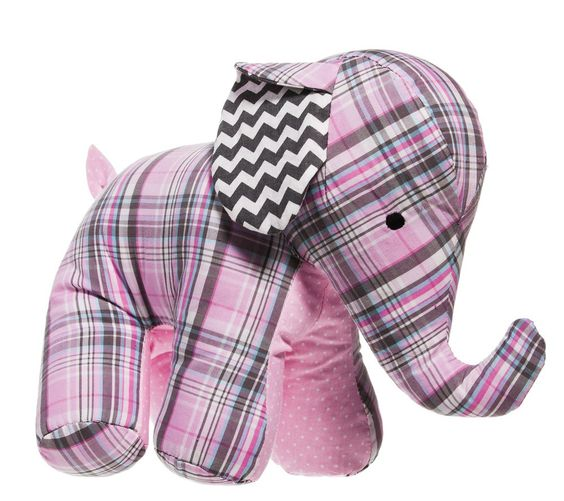This adorable elephant will quickly become your child's newest best friend.