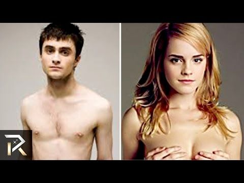 famous people naked