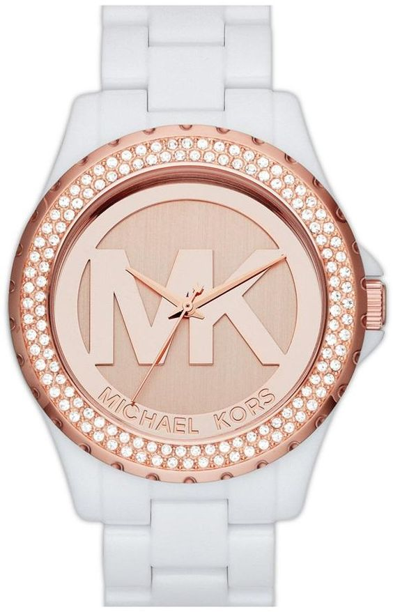MK5818 - Authorized michael kors watch dealer - Mid-Size michael kors Madison Logo, michael kors watch, michael kors watches