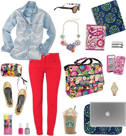 Vera Bradley Style this bag: Back to Campus