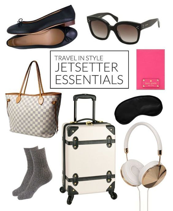 travel essentials for the stylish jetsetter