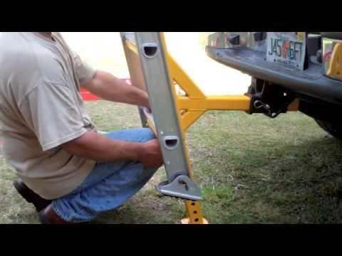 Monkeyrack Ladder Stabilizer Safety Briefing Youtube Ladder Stabilizer Ladder Accessories Ladder