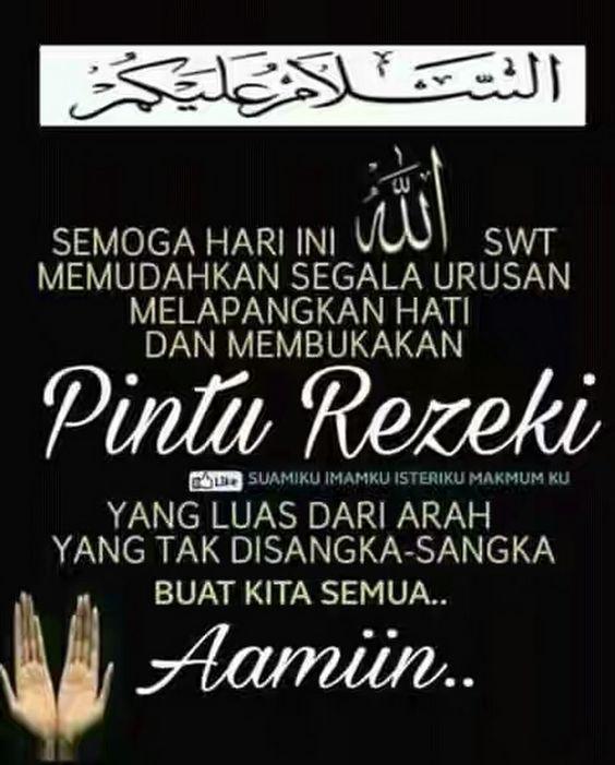 Kata Mutiara Islam Jumat Pagi Dengan Gambar Islamic Quotes