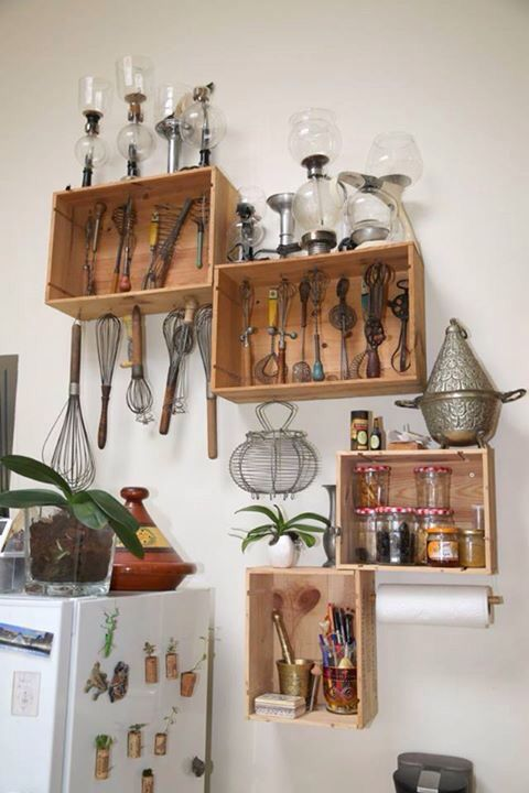 Pinterest the world s catalog of ideas - Etagere caisse de vin ...
