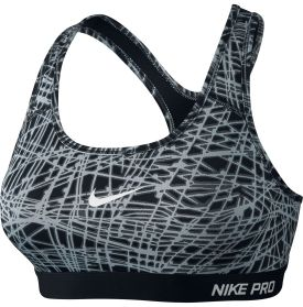 Nike Women's Pro Classic Tracer Printed Compression Sports Bra - Dick's Sporting Goods