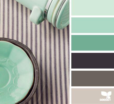 Grises y verde menta paletas de color color palete for Paleta de colores grises