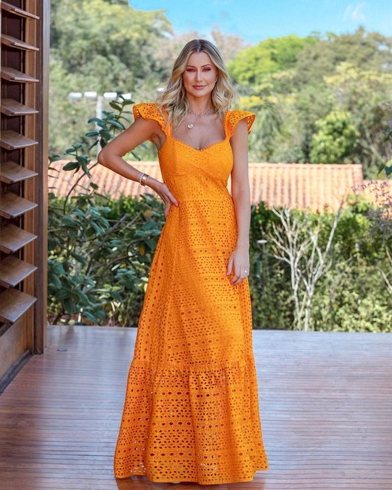 Vestidos Longo de verão tradicional
