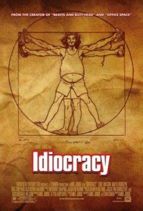 Idiocracia - Poster / Capa / Cartaz - Oficial 1