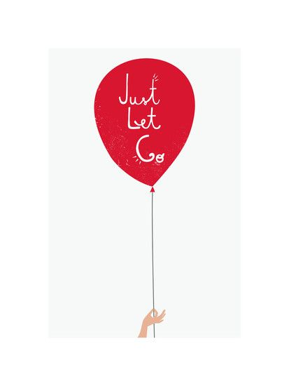 Just Let Go by Kayla King for Minted