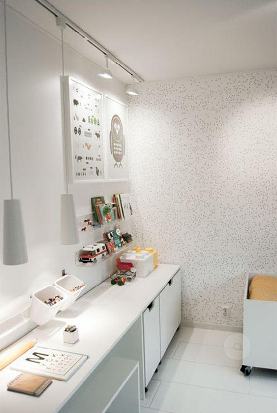 7 habitaciones infantiles en blanco salas de artesan as - Habitaciones infantiles de ninos ...
