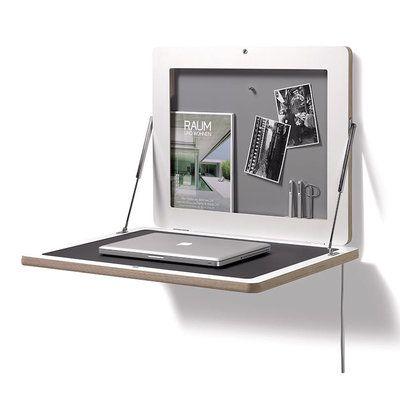 Müller Möbel FLATFRAME - un espace de travail mural extra-plat, électro-ergonomique et peu encombrant - version Premium