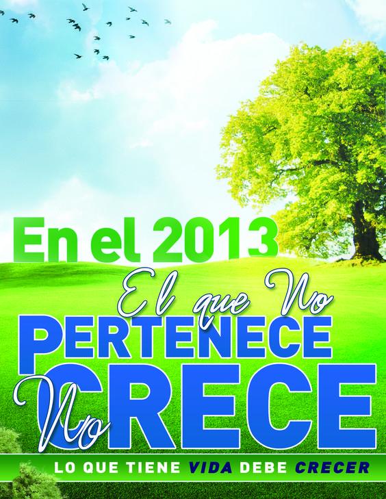 Diseño para SMCC en Español para una ruta de crecimiento en el 2013