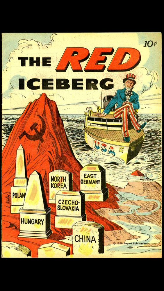 The Cold War iceberg