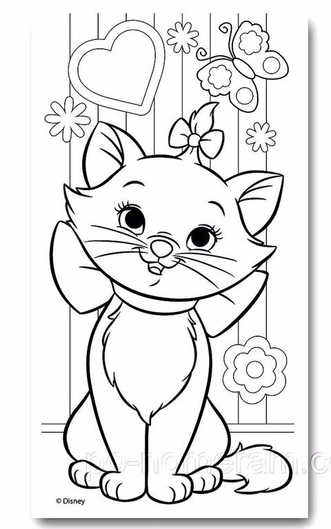 Pin By Nanda Kale On Pitu Cat Coloring Page Cute Coloring Pages