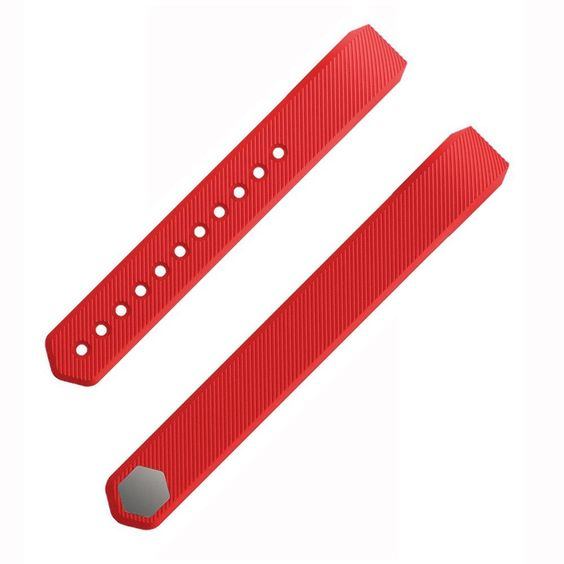 Etoper Silicone Large Small Wrist Bands for Fitbit Alta Fitness Tracker Accessories with Metal Buckle Replacement(WristbandBandsSize-Small-Red). Rubber wristband Strap Bracelet Band for Fitbit Alta Large, Small,pink,silver,teal size with Metal clasp accessories. Sport bands make it easy to attach your compatible alta tracking device to your wrist. Replce fitbit alta band materials is Silicon ,Provides a lasting design. Waterproof/Water resistant-style so you don't have to worry if you…