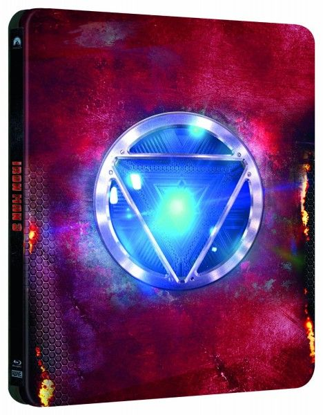 Iron Man 3 SteelBook (Spain)