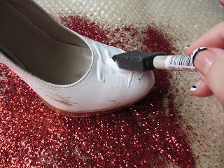 Crafts After College: Dorothy's Shoes