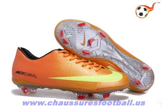 Mercurial Vapor IX FG Orange Jaune FT5243
