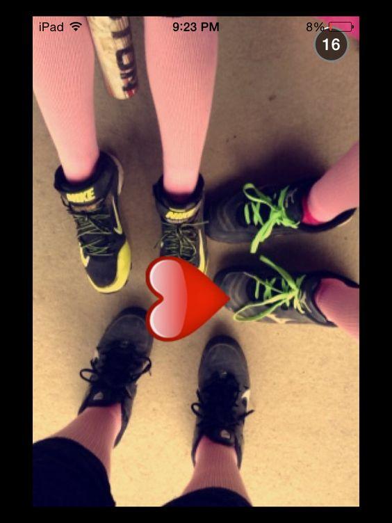 Me and my softball buddies :) ❤️ them