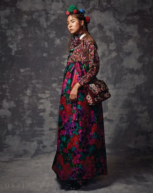 koreanmodel:  Jin Jung Sun by Yoon Myung Seop for Vogue Korea...