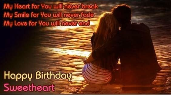 Special Happy Birthday Wishes To Lover Best For Love Birds