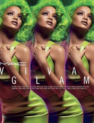 MAC Viva Glam Rihanna II promo image