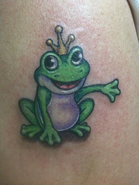 frog tattoo | Frog prince tattoo | Flickr - Photo Sharing!