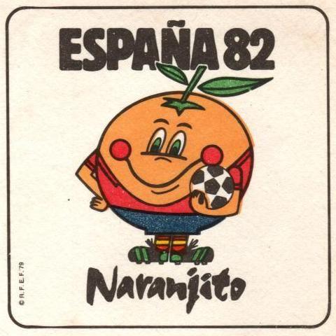 Mundial de fútbol . España 1982. Naranjito   http://2.bp.blogspot.com/
