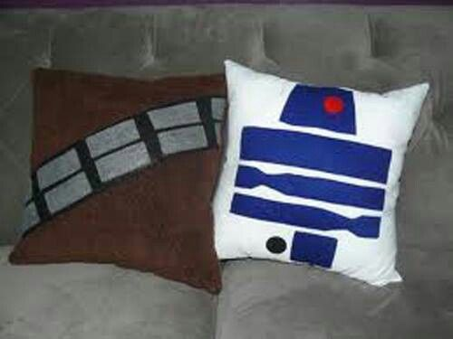 These ARE the Droid and Wookie - I mean CUSHIONS you're looking for...