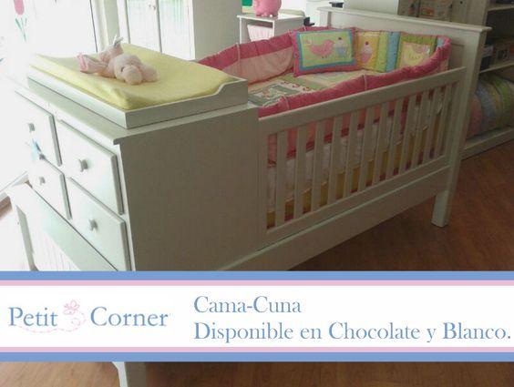 Cama-Cuna. | Babies Room | Pinterest | Cama cuna, Camas y Muebles ...