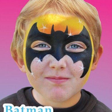 batman face paint - Google Search