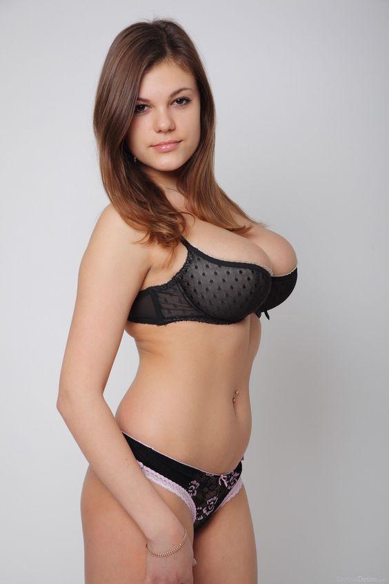 senior female in the nude