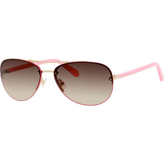 Featuring 100% UVA/UVB protection, the Beryl Sunglasses from Kate Spade are just what you need to look fashionable while protecting your eyes from the sun's harmful rays.