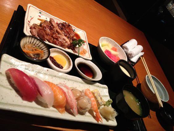 Sushi Chicken Set @ KURA