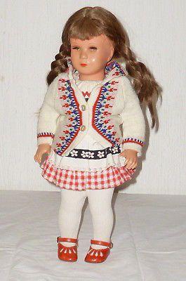 Alte Käthe Kruse Schildkröt Puppe Schildkrötpuppe Puppen 40cm doll dolls Mädchen