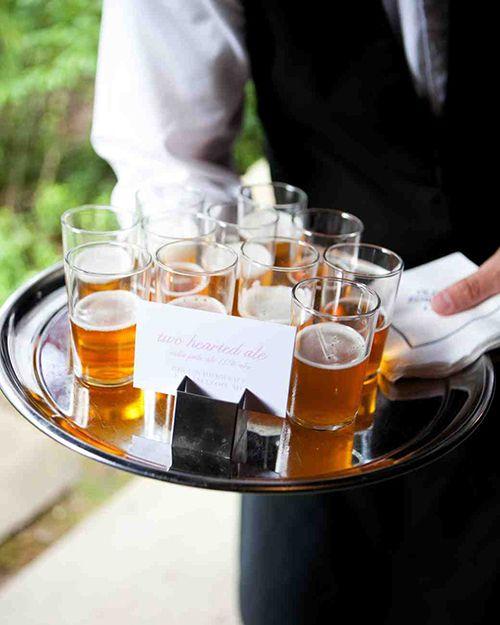 Creative Ways to Serve Beer at Your Wedding   Brides.com