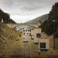 Norwegian Rolling Masterplan Train Track Homes