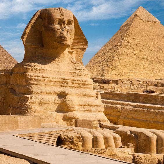 KLM Guide de voyage - Les pyramides de Gizeh et le Sphinx