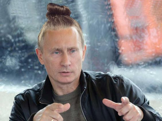 World Leaders With  Man-Buns